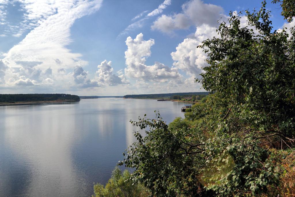 Curso del río Volga a la altura de Myshkin. Oblást de Yaroslavl. Autor, Alexxx Malev