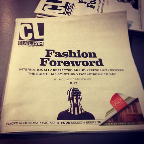 Did you get your copy of Creative Loafing with MY SISTER ON THE COVER??!?!!