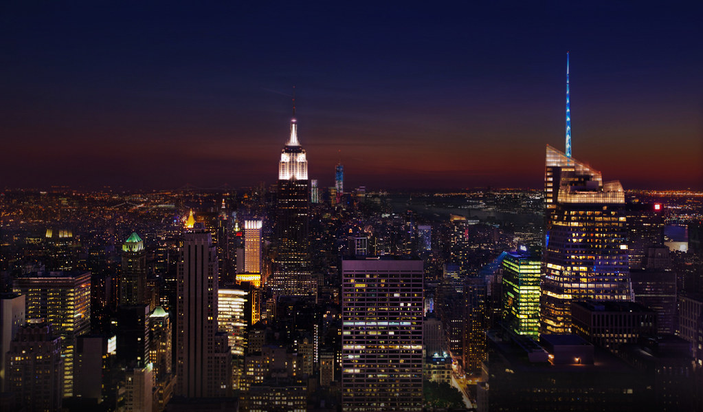 New York Skyline | Top Of The Rock