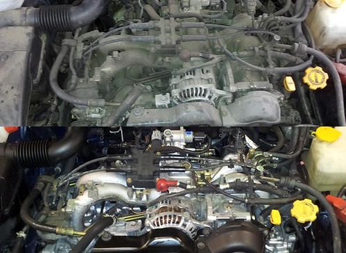 Motor Sucio VS Motor Limpio