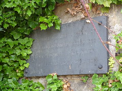Photo of County Gaol, Salisbury stone plaque