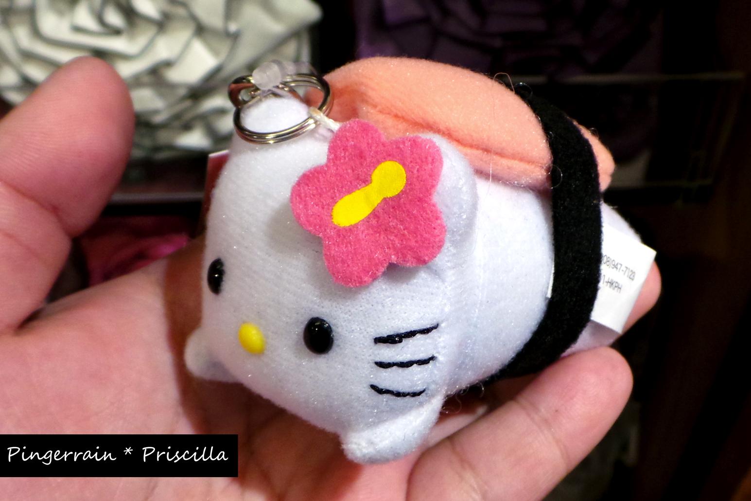 Hello Kitty Musubi Keychain