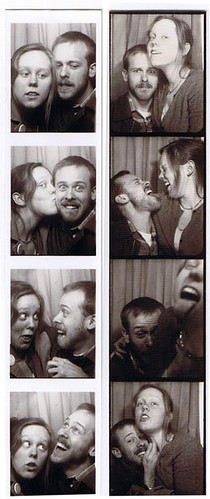 Johnny and me on a photobooth pub-crawl, 2009