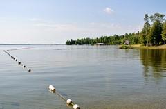 Early morning at Balsam Lake Provincial Park Beach