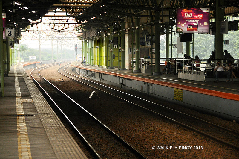 Gambir Station, Central Jakarta, Indonesia