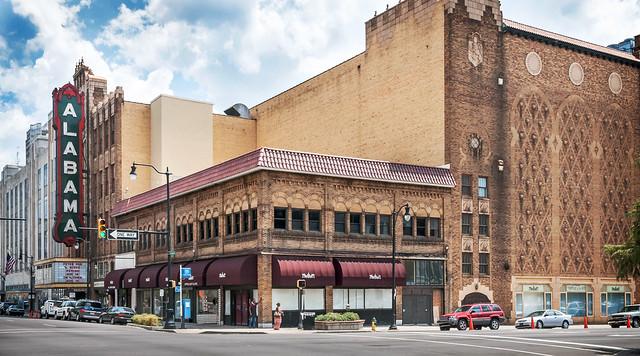 Alabama Theatre (1927), view 01, 1817 3rd Ave N, Birmingham, AL, USA