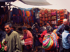 the market in chichi