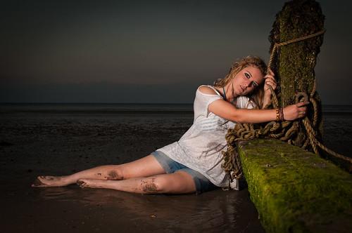 Katie @ Lancing Beach
