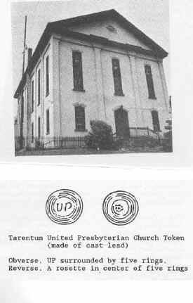 Tarentum Communion Token