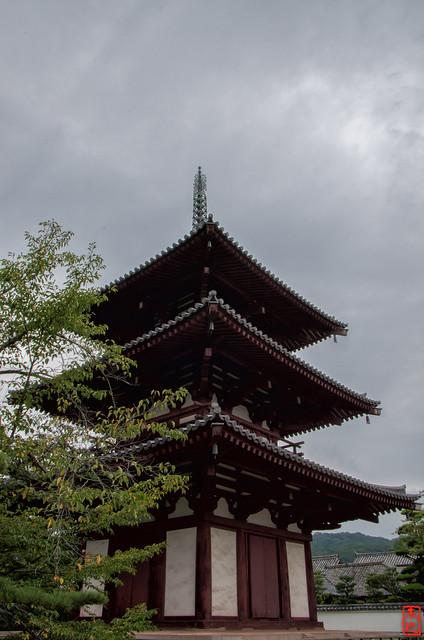 「三重塔」 法輪寺 - 奈良