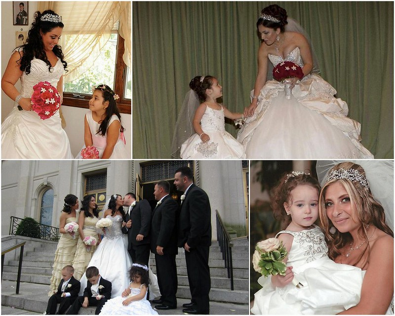 Bridal Styles brides and their Flowergirls