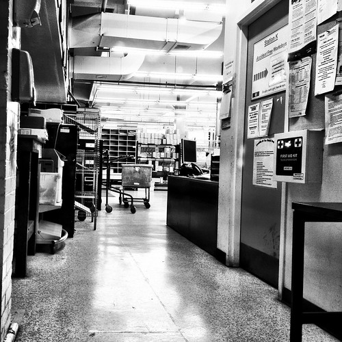 The mystery of the office behind the counter - #249/365 by PJMixer