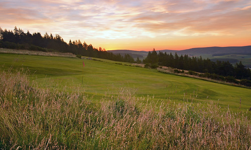 green club sunrise golf scotland fairway 8th moray dufftown
