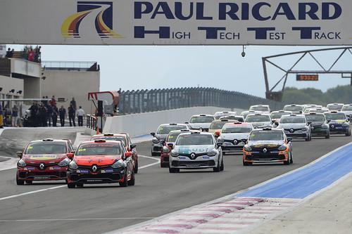 Salida Eurocup Clio Paul Ricard
