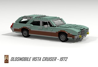 Oldsmobile Vista Cruiser - 1972