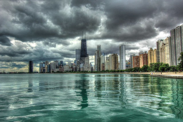 North Beach, Chicago (HDR)