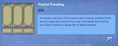 Playful Paneling