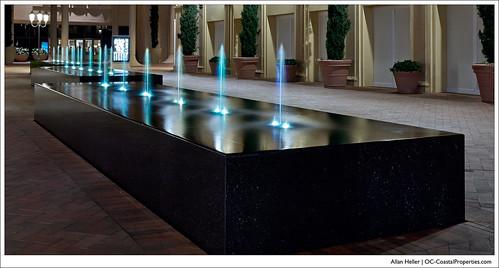 Fashion Island Fountain of Light