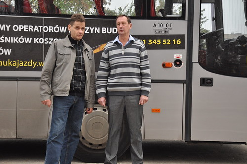 Prawo jazdy na autobus we Wrocławiu.