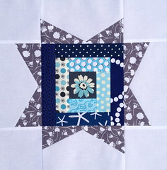 3 x 6 bee Star hive - Anna's (Somethingsewn) block