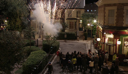 Epic Fireworks Eastenders - Thursday 7th Nov 2013