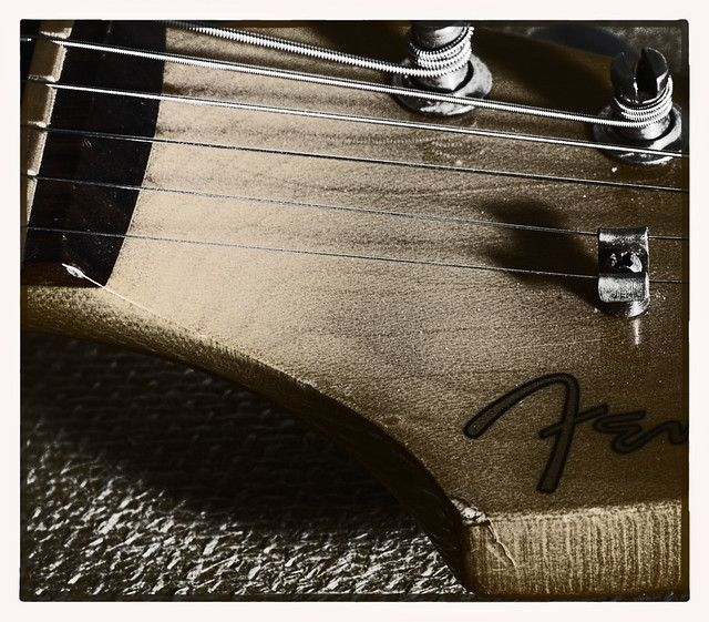 Photo:tonal close headstock Fender Stratocaster By keith ellwood
