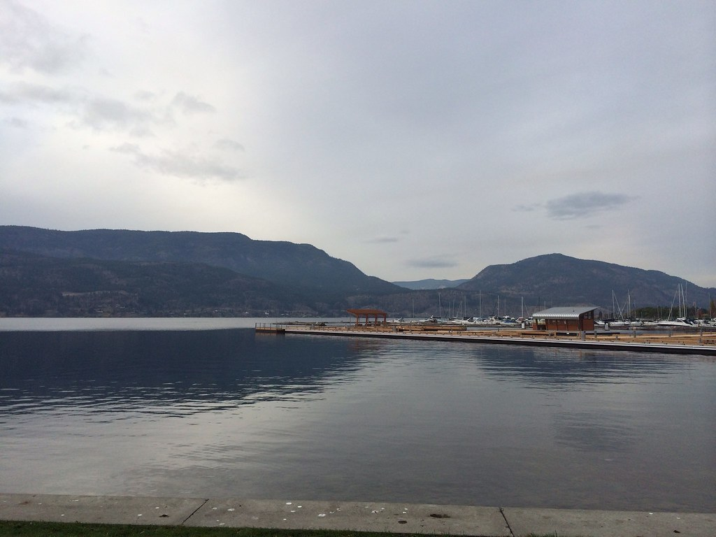 Okanagan Lake in Kelowna