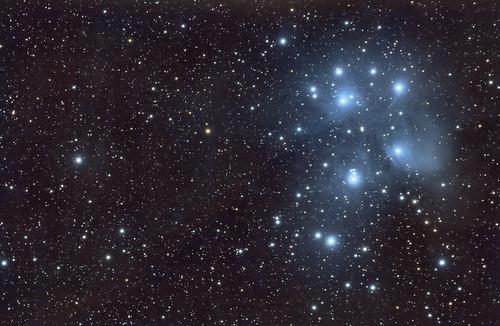 M45 3 horas de integración en 2 noches