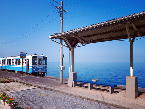 下灘駅 Shimonada Station