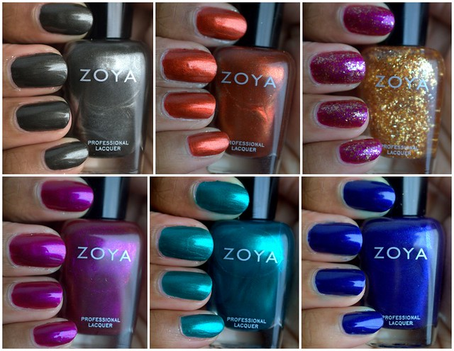 Zoya Satins Collection