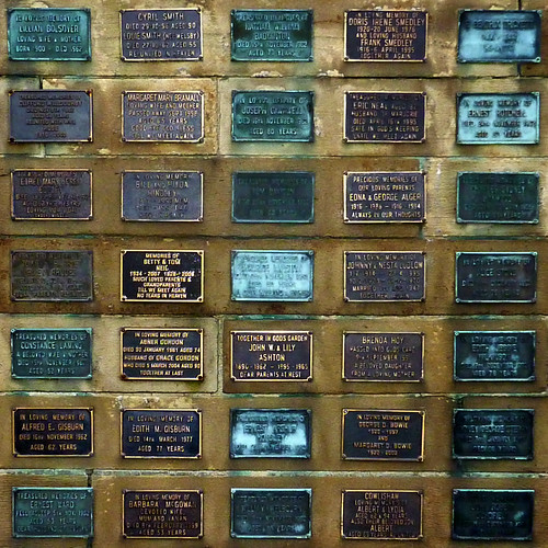 thirty-five plaques by pho-Tony