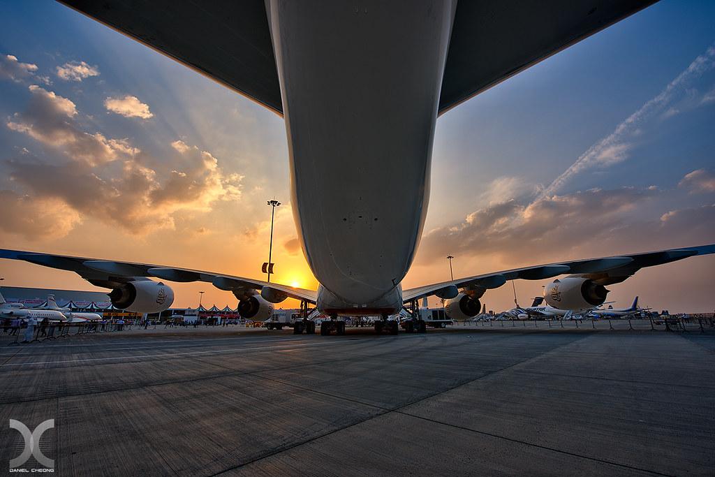 Dubai Airshow - A380