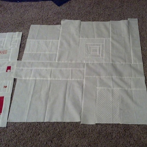 binary quilt back