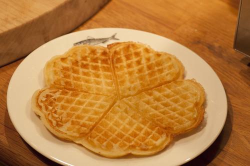 waffles sans jam