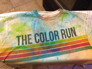 Color Run Shirt Preservation