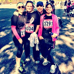 We did it! #runforthecure #tokyo #10k