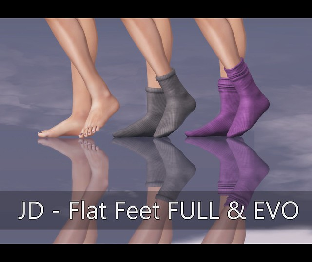JD - Feet Flat FULL & EVO for SHOETOPIA @2013