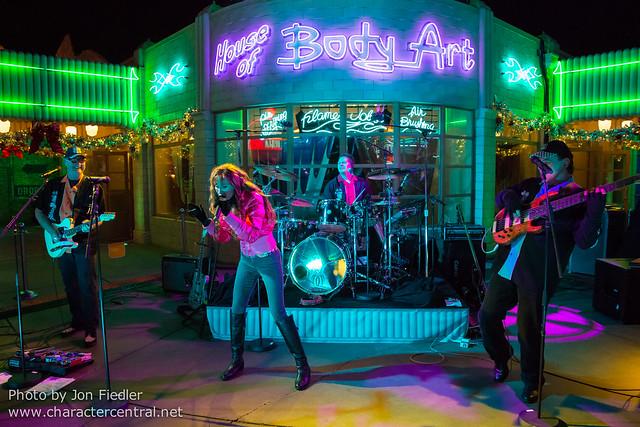 Disneyland Dec 2012 - New Year's Eve Entertainment