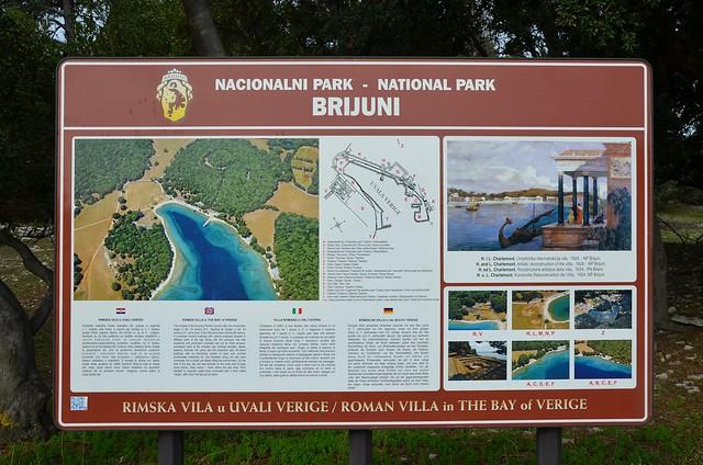 Roman Villa in the Bay of Verige, Brijuni Islands, Croatia