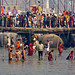 DSC02378 - Pontoon Bridge - Floating Bridge over Ganges River - Kumbh Mela (India) by loupiote (Old Skool) pro