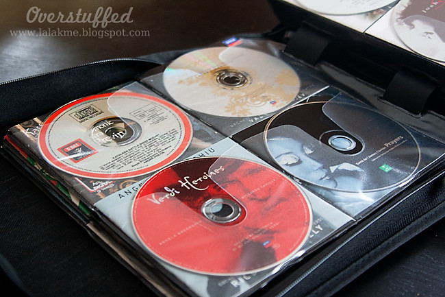 Organized CDs