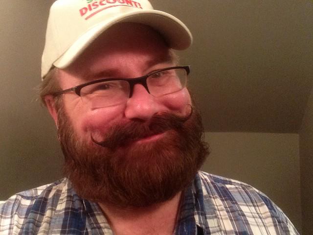 Header of beards