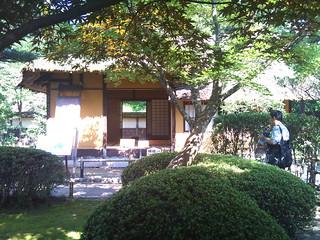 鶴ヶ城・茶室麟閣