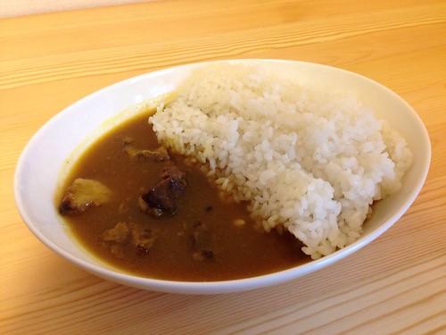 牛スジカレー by S&B赤缶カレーミックス