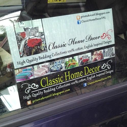 Custome Made Sticker Kereta