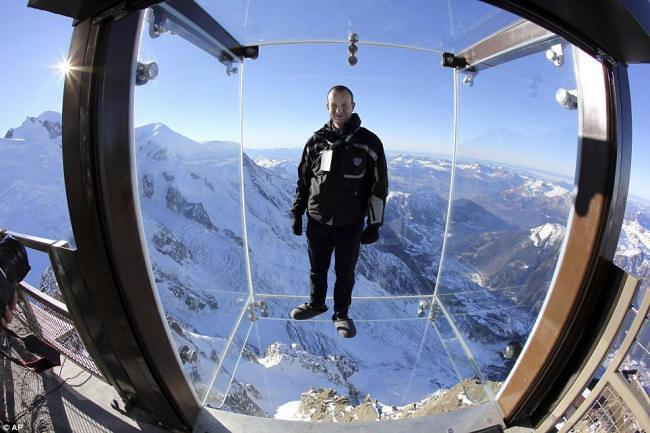 Aiguille du Midi Chamonix France.
