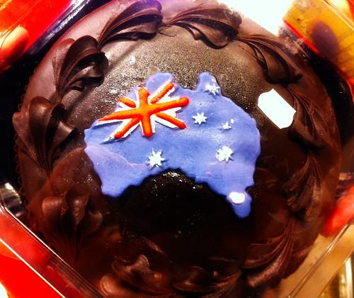Australia Day Mudcake