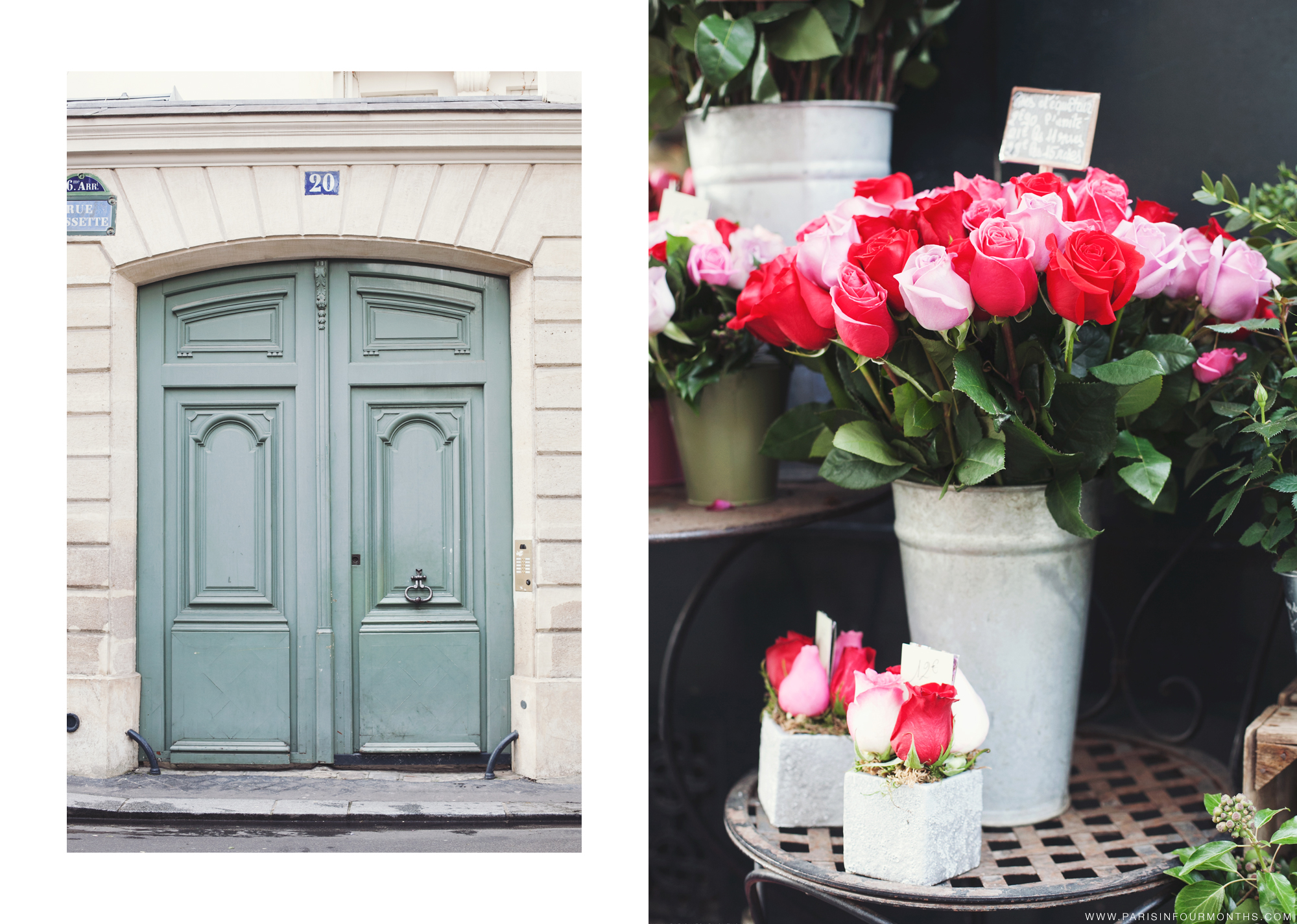 Pretty Flower Shops in Paris