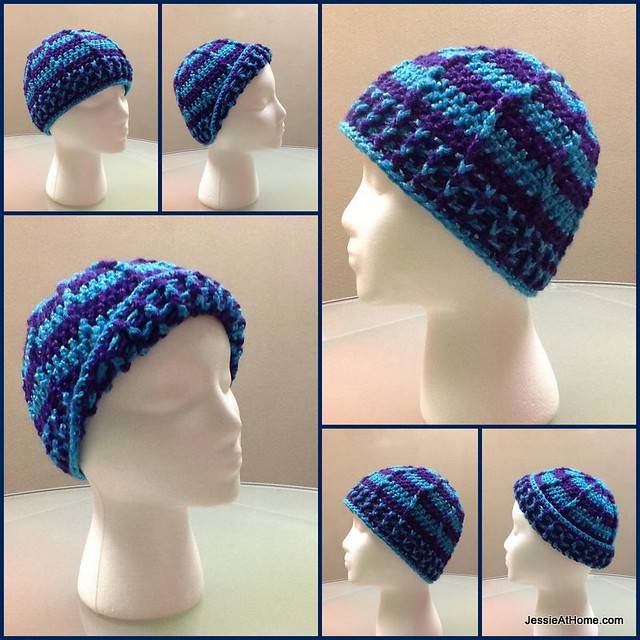 Free-Crochet-Pattern-Raised-Stripes-Hat-Teen