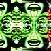 #big #glitch is #watching #you / #graffitti #streetart #kaleidoscope #zurich #zureich #face #eyes #decim8 #kaleidacam #instabrakadabra #surreal #surreal42 #lsd #25 #psychedelic #twitter by honigtigerrr